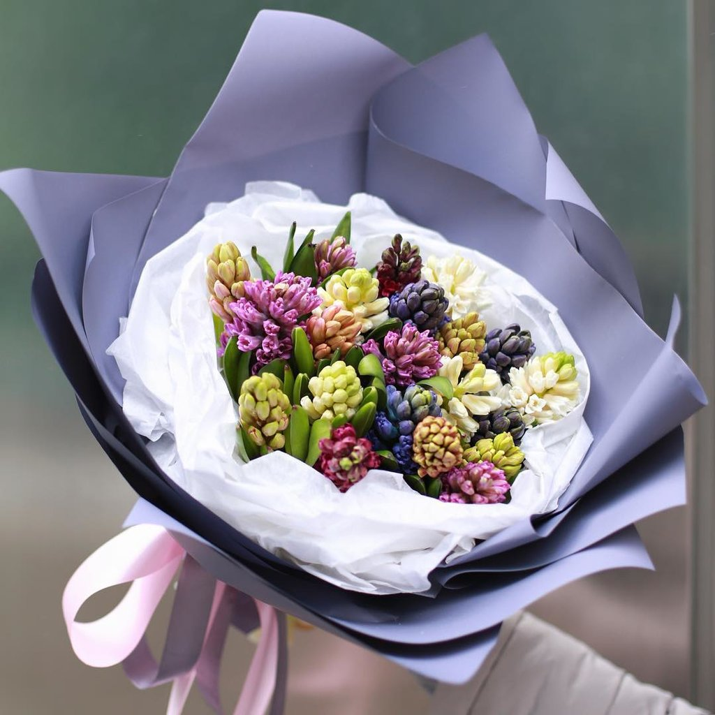 Роз, доставка цветов москва 1990 гиацинты