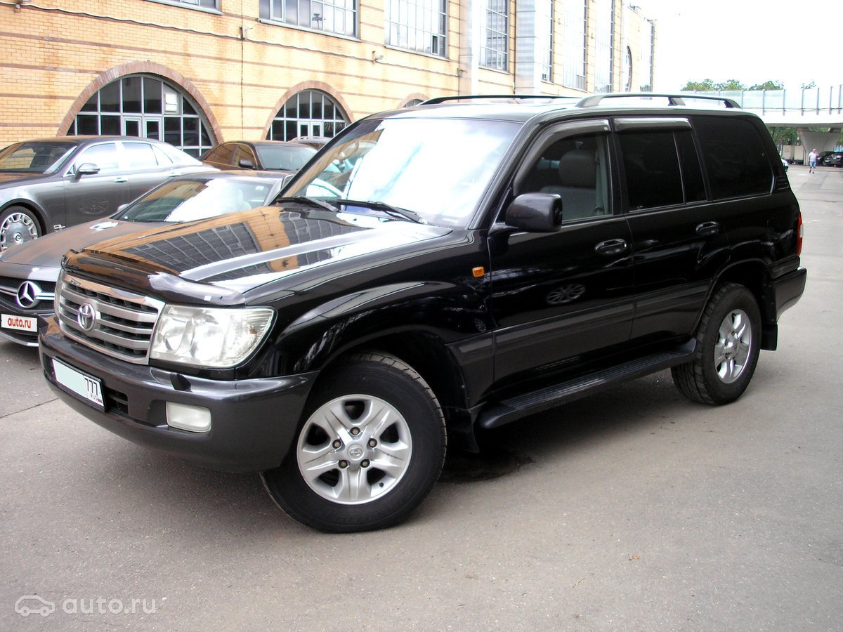 Toyota Land Cruiser 100 Series 2 2006 Object