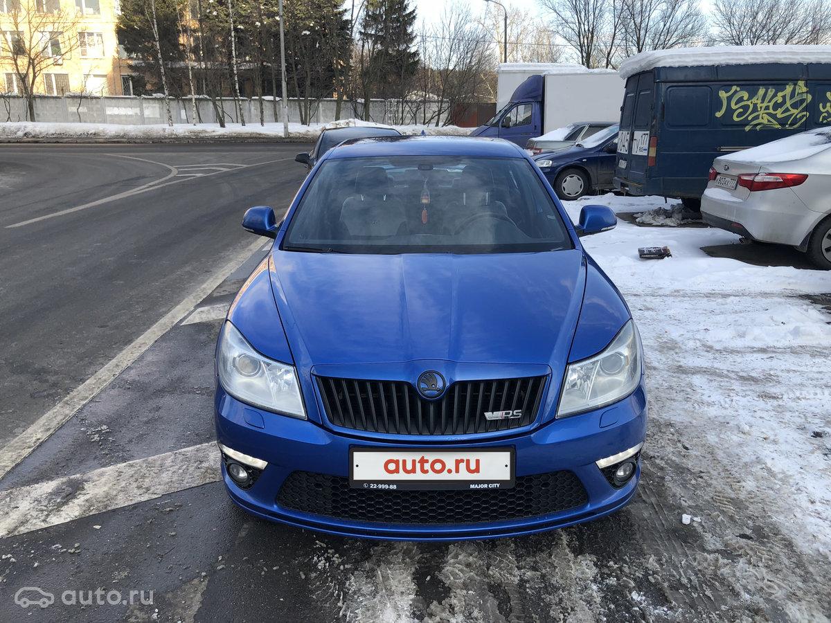 skoda octavia rs напрокат в москве
