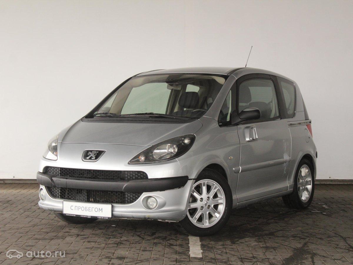 2005 Peugeot 1007, серебристый, 210000 рублей