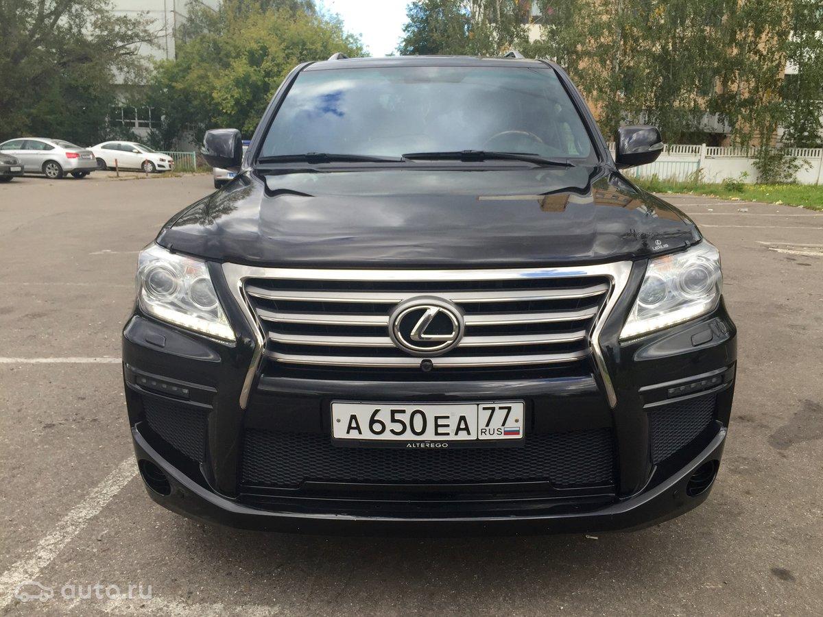 Купить Lexus LX 570 с пробегом в Москве: Лексус LX 2013 года