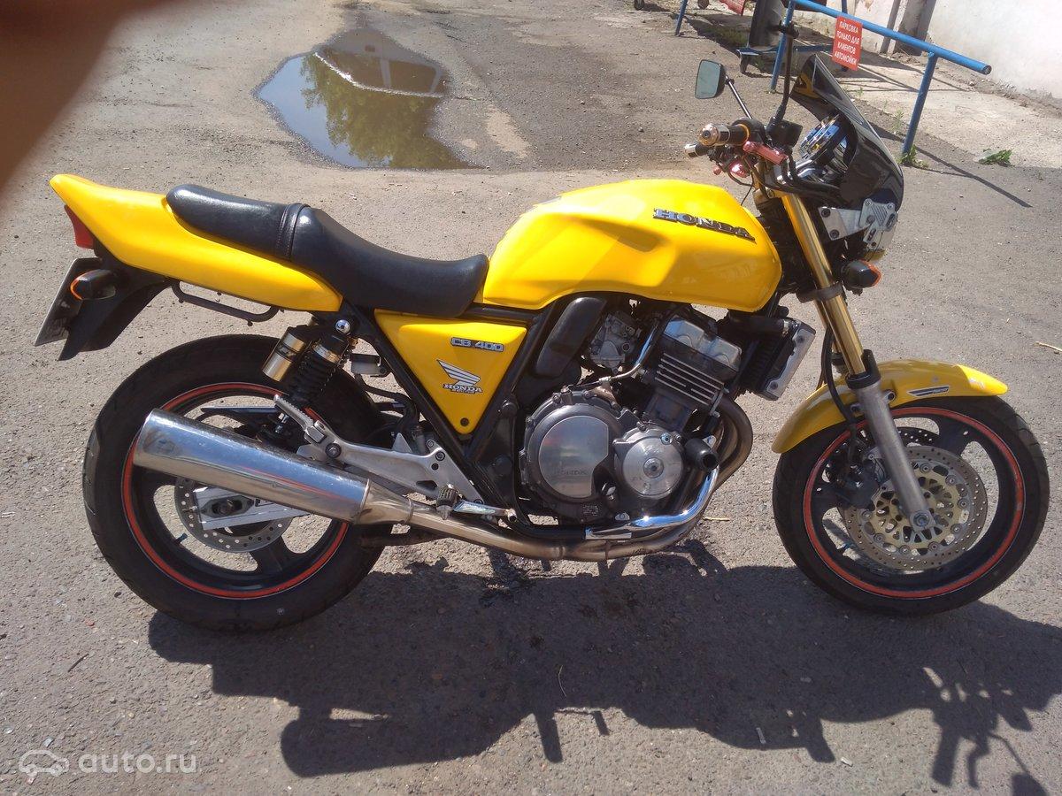 купить мотоцикл Хонда СБ 400 на авито