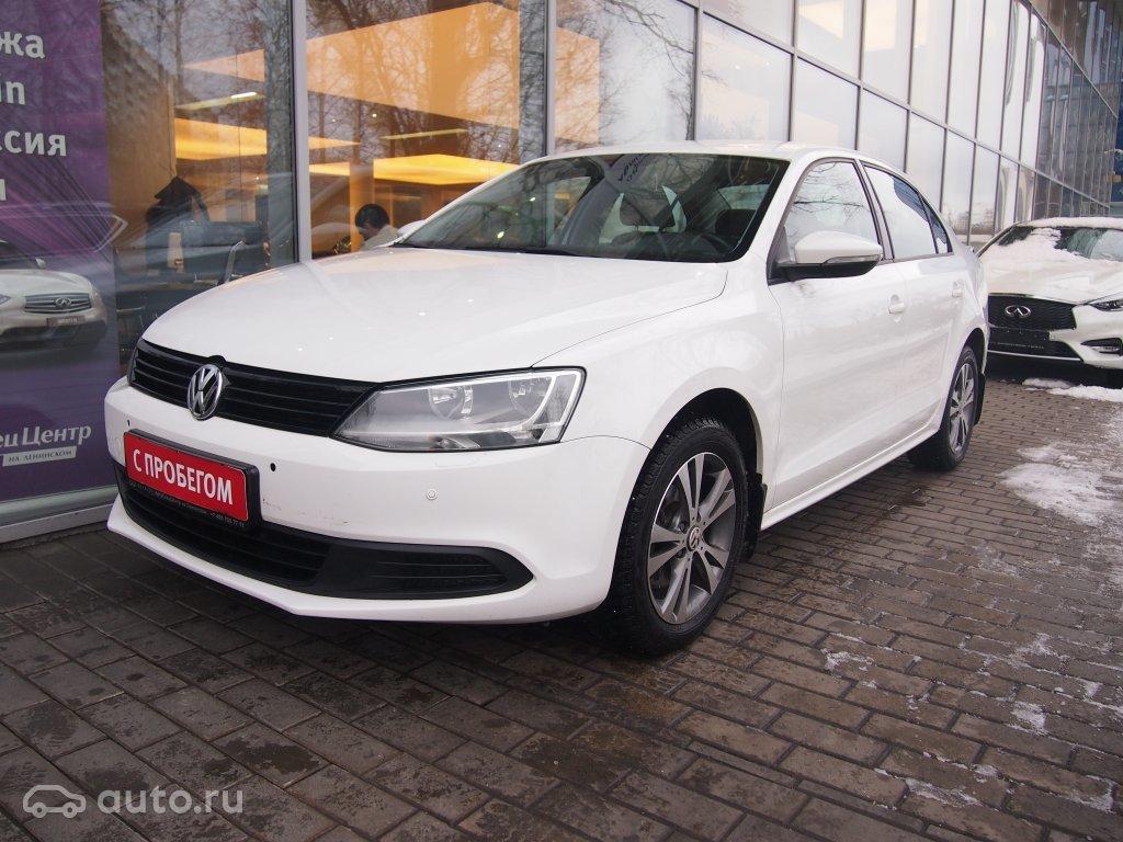Купить бу Volkswagen Jetta с пробегом в Москве