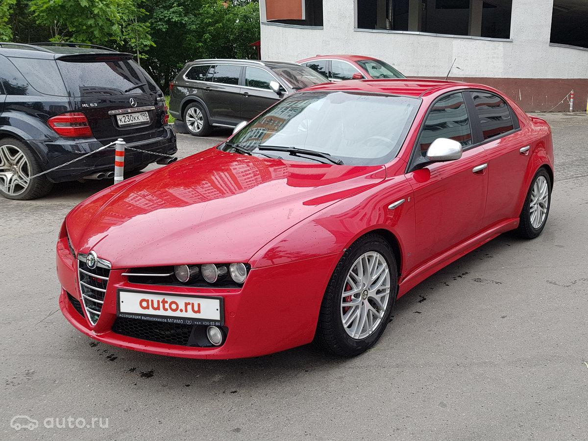 2007 Alfa Romeo 159, красный, 570000 рублей