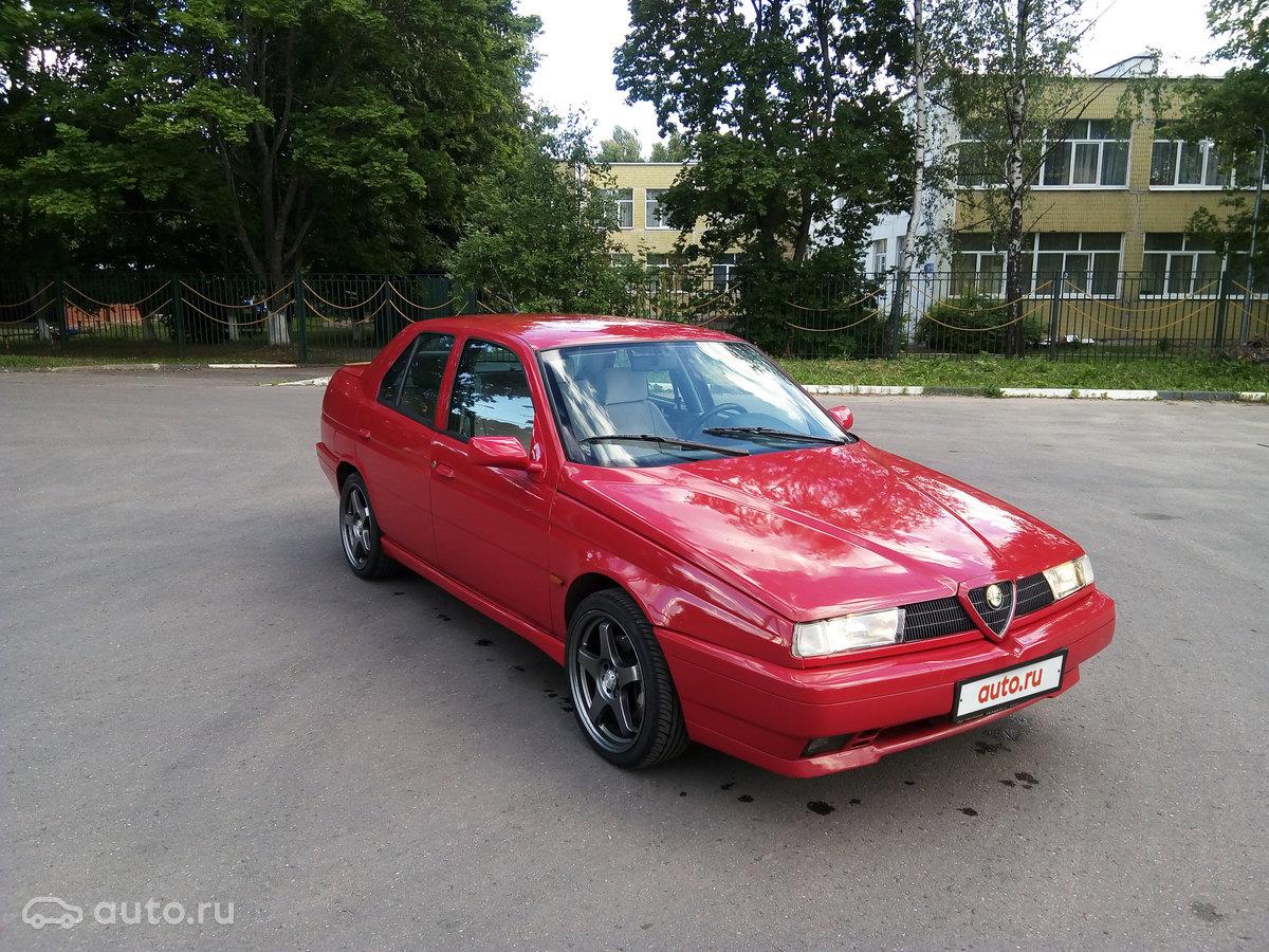 1994 Alfa Romeo 155 I, красный, undefined рублей