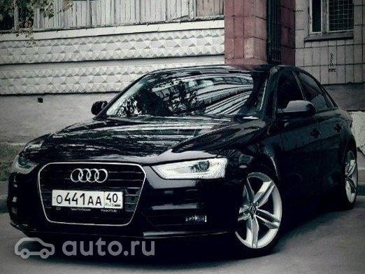 купить Audi A4 Iv B8 рестайлинг с пробегом в краснодаре ауди а4