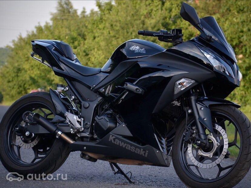 купить Kawasaki Ninja 300 с пробегом в белгороде 2013 года цена