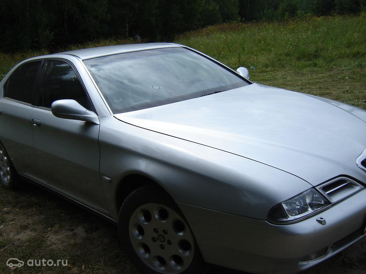2000 Alfa Romeo 166 I, серебристый, 185000 рублей