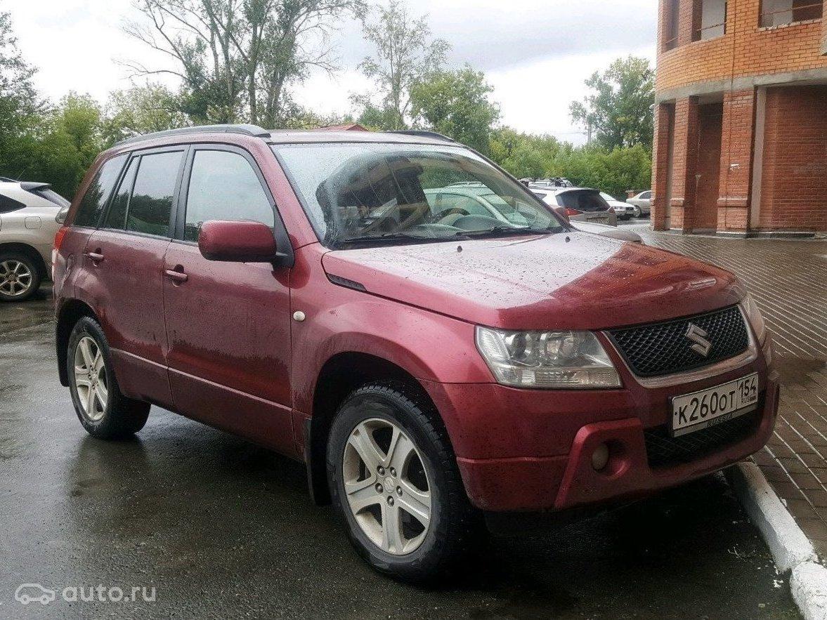 2007 Suzuki Grand Vitara III, красный,  object Object  рублей - вид 1 4a6b931645f