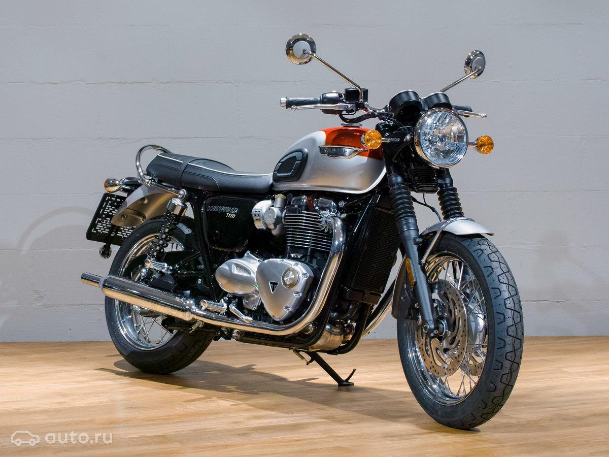 купить новый Triumph Bonneville T120 в москве Triumph Bonneville