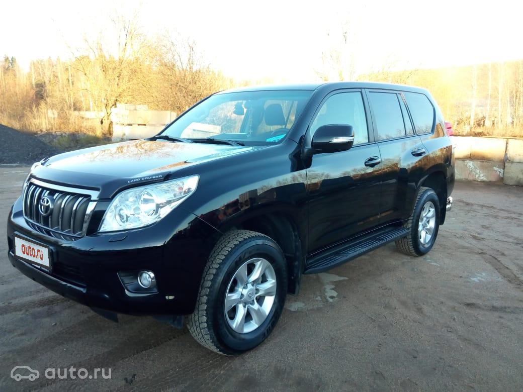 623c8a21f668 2012 Toyota Land Cruiser Prado 150 Series, чёрный,  object Object  рублей