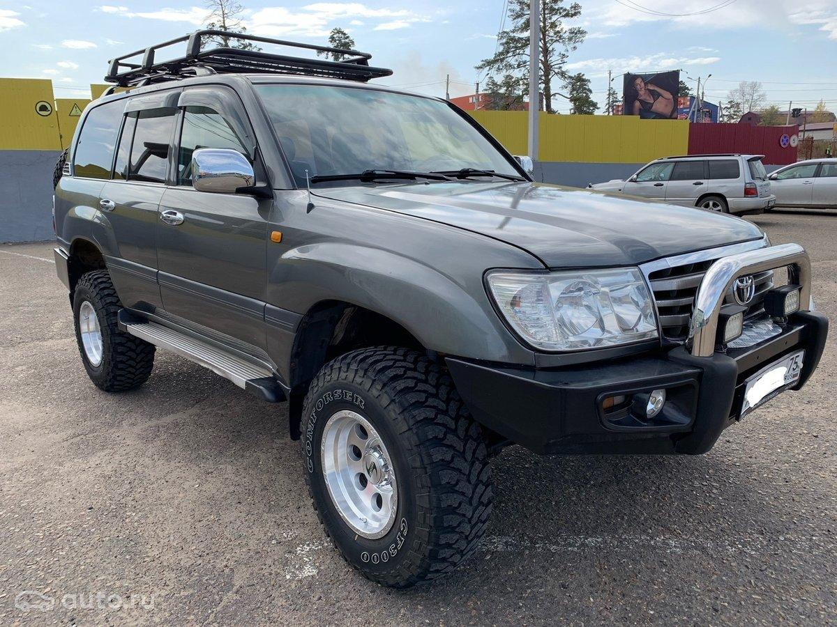 Series 105 1998 Toyota Land Cruiser Michaelieclark 100 Object