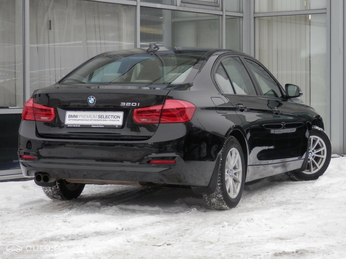 2016 BMW 3 ÑеÑÐ¸Ñ  VI (F3x) РеÑÑайлинг 320i, ÑÑÑнÑй, [object Object] ÑÑблей - вид 2