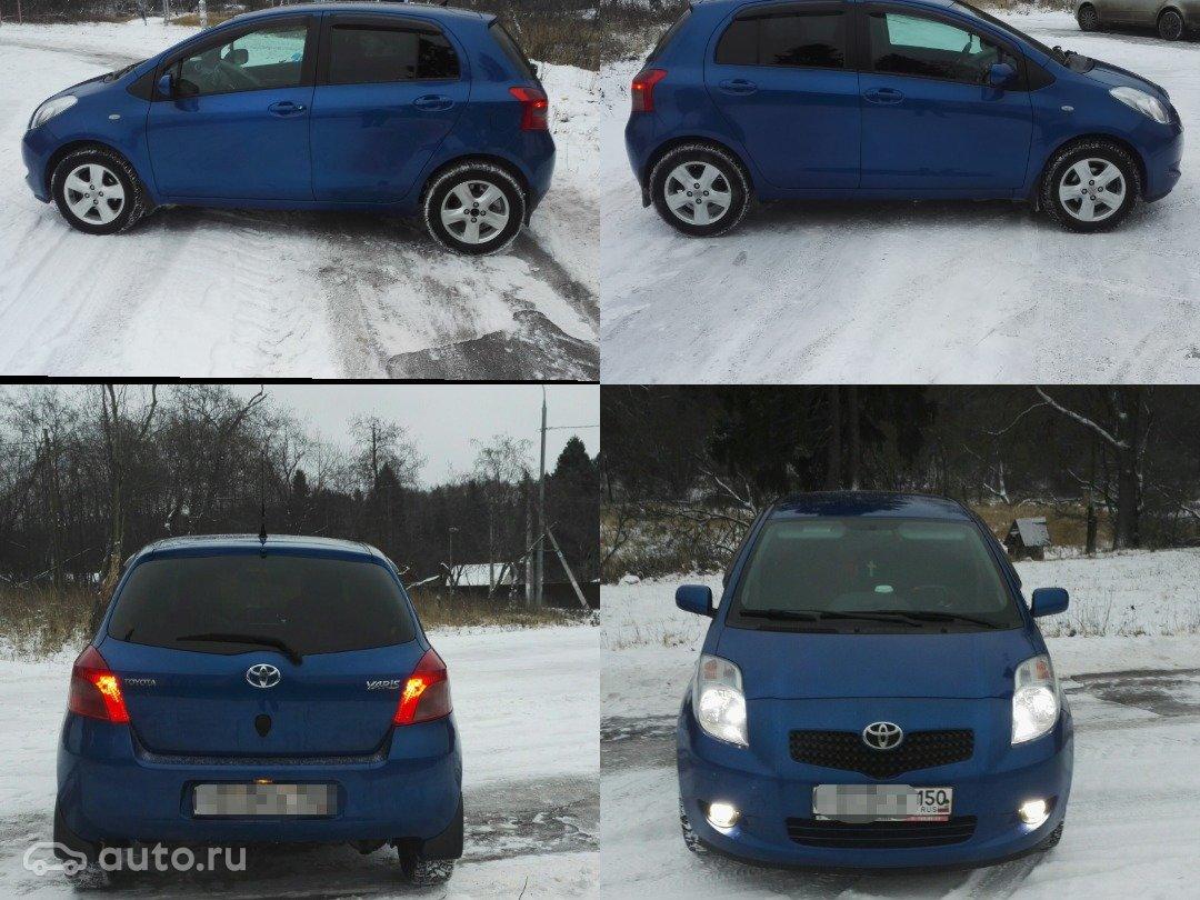 toyota yaris ii multimode ii 2007 rh auto ru