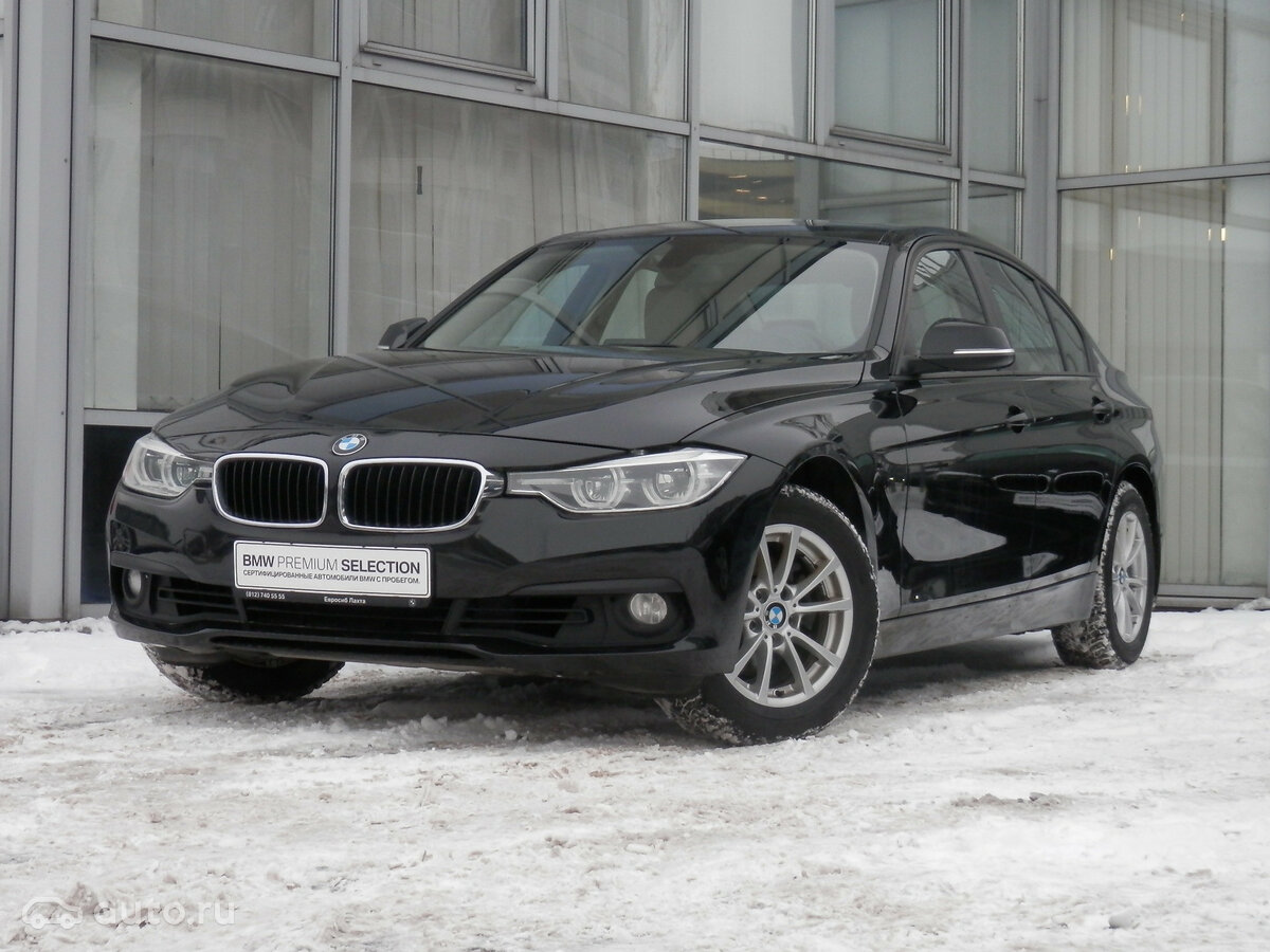 2016 BMW 3 ÑеÑÐ¸Ñ  VI (F3x) РеÑÑайлинг 320i, ÑÑÑнÑй, [object Object] ÑÑблей