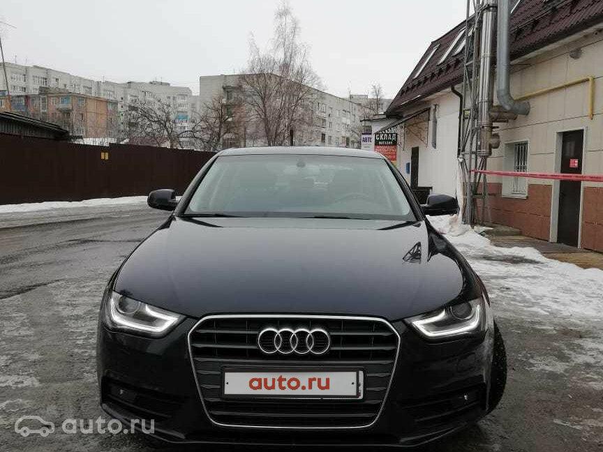 купить Audi A4 Iv B8 рестайлинг с пробегом в брянске ауди а4 Iv