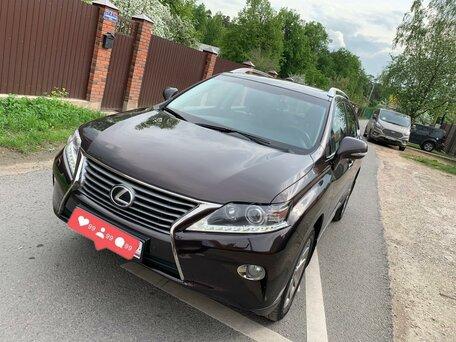 Купить Lexus RX пробег 150 000.00 км 2013 год выпуска