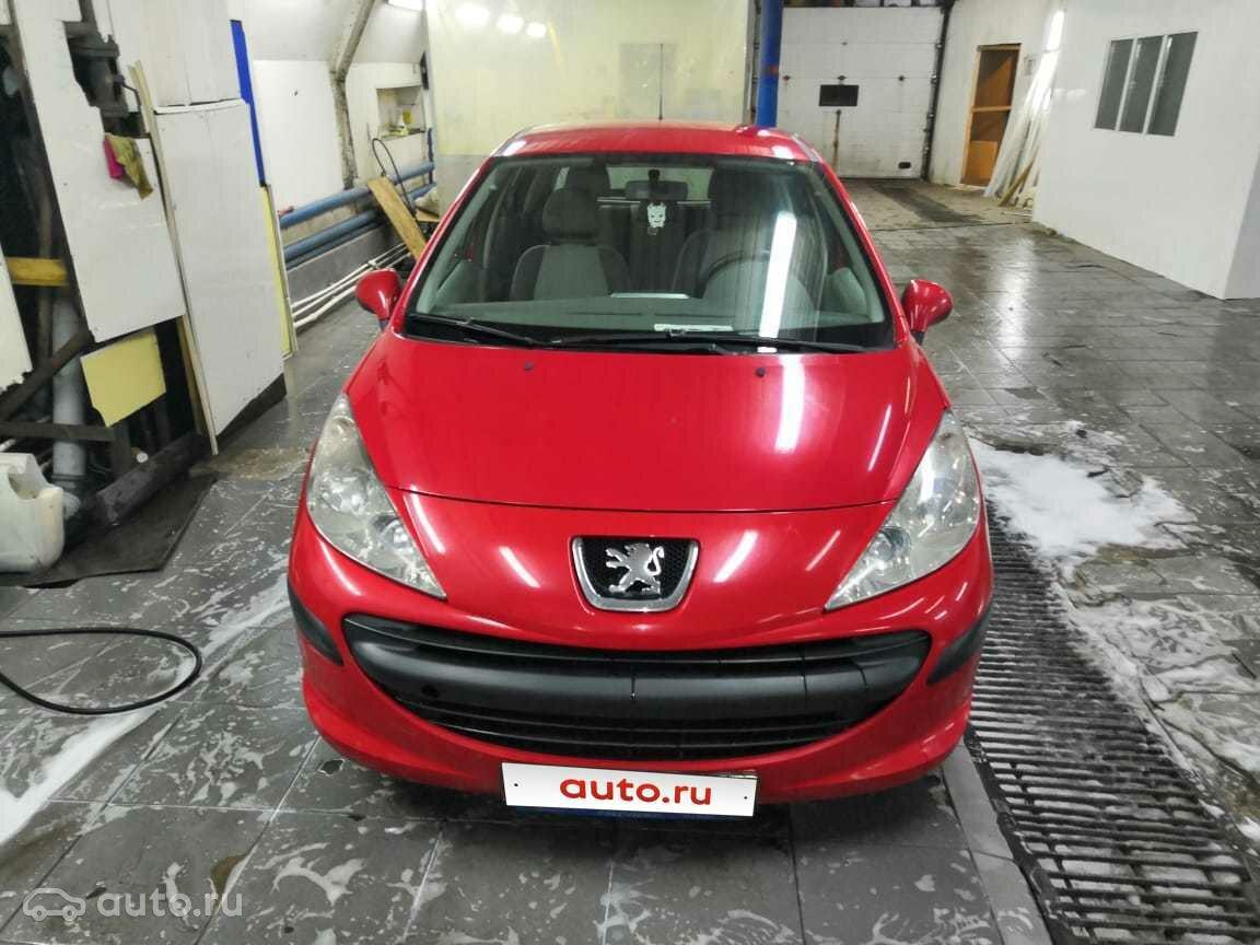 2008 Peugeot 207 I, красный, 205000 рублей