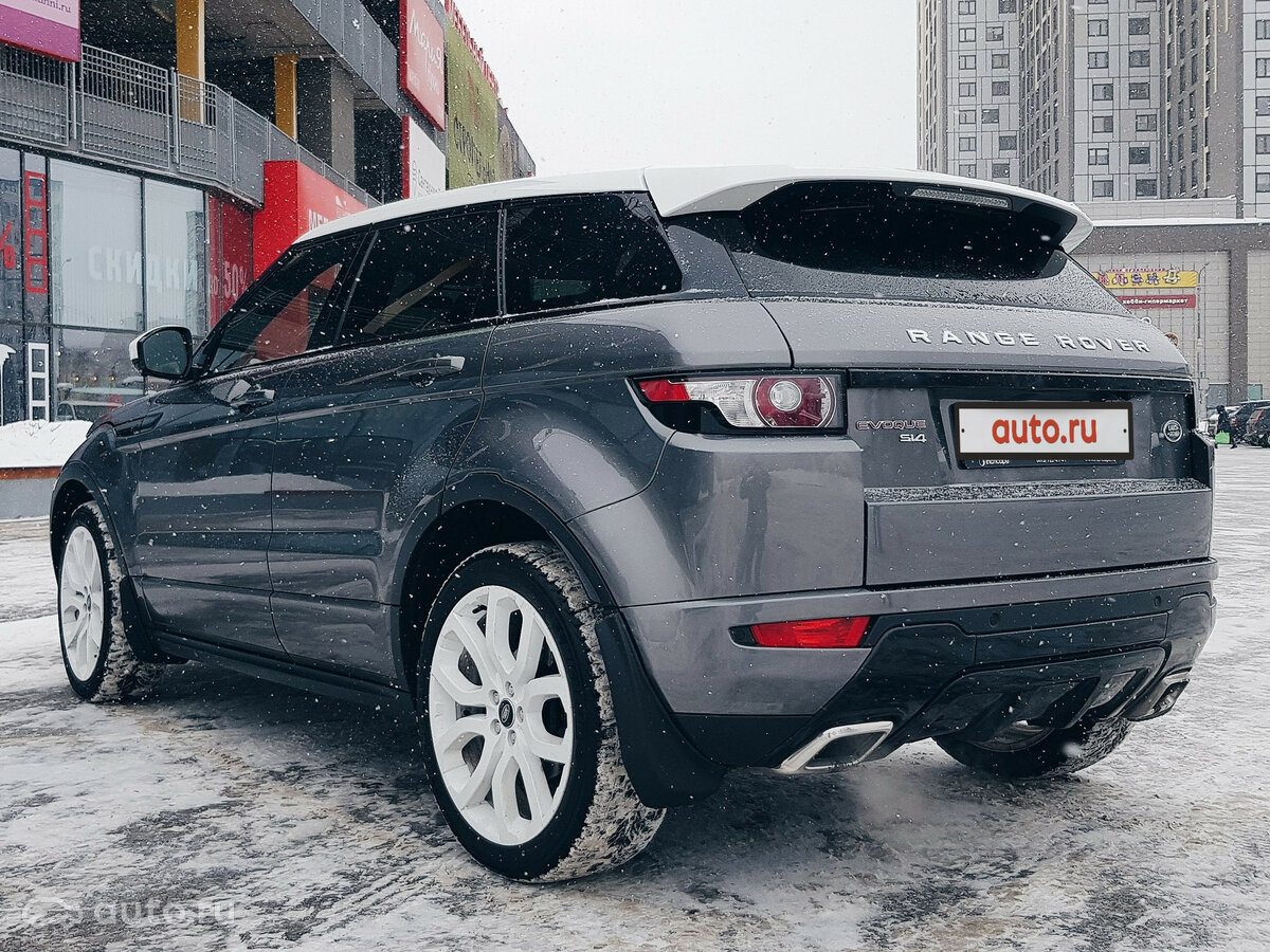 2015 Land Rover Range Rover Evoque  I 9-speed, серый, undefined рублей - вид 3