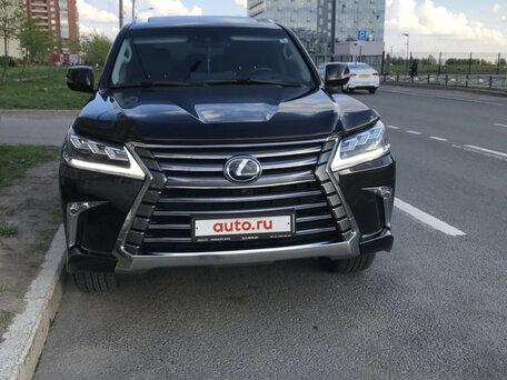 Купить Lexus LX пробег 23 600.00 км 2017 год выпуска