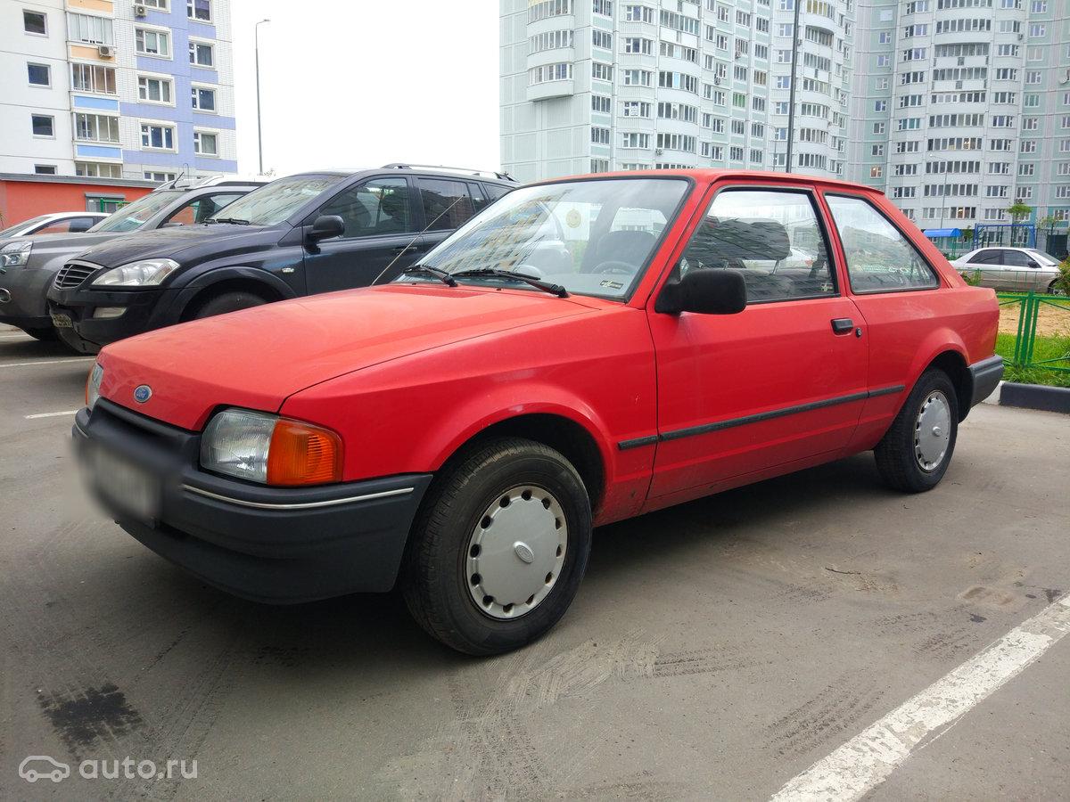 ford escort 1987