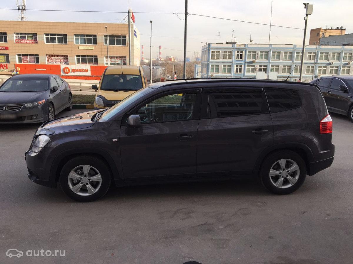 Купить подержанный Chevrolet Orlando Шевроле орландо