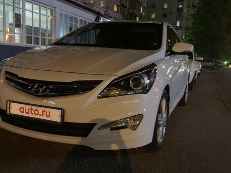Купить Hyundai Solaris пробег 70 000.00 км 2015 год выпуска