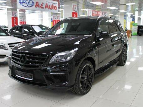 Купить Mercedes-Benz M-klasse AMG пробег 84 500.00 км 2012 год выпуска