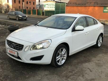 Купить Volvo S60 пробег 77 000.00 км 2012 год выпуска