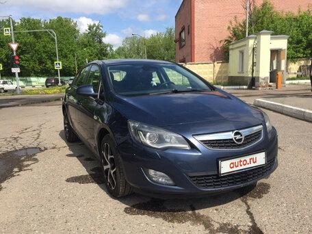 Купить Opel Astra пробег 122 000.00 км 2011 год выпуска