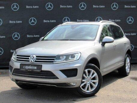 Купить Volkswagen Touareg пробег 40 500.00 км 2017 год выпуска