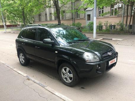 Купить Hyundai Tucson пробег 135 000.00 км 2007 год выпуска
