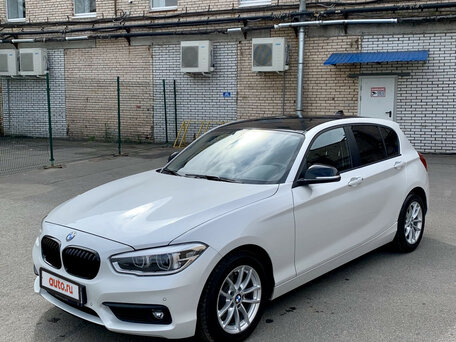 Купить BMW 1 серия пробег 11 853.00 км 2017 год выпуска