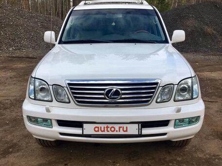 Купить Lexus LX пробег 96 000.00 км 2005 год выпуска