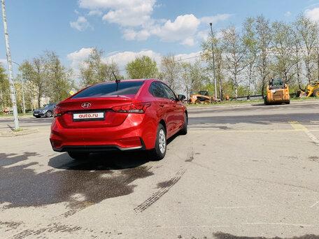 Купить Hyundai Solaris пробег 36 000.00 км 2017 год выпуска