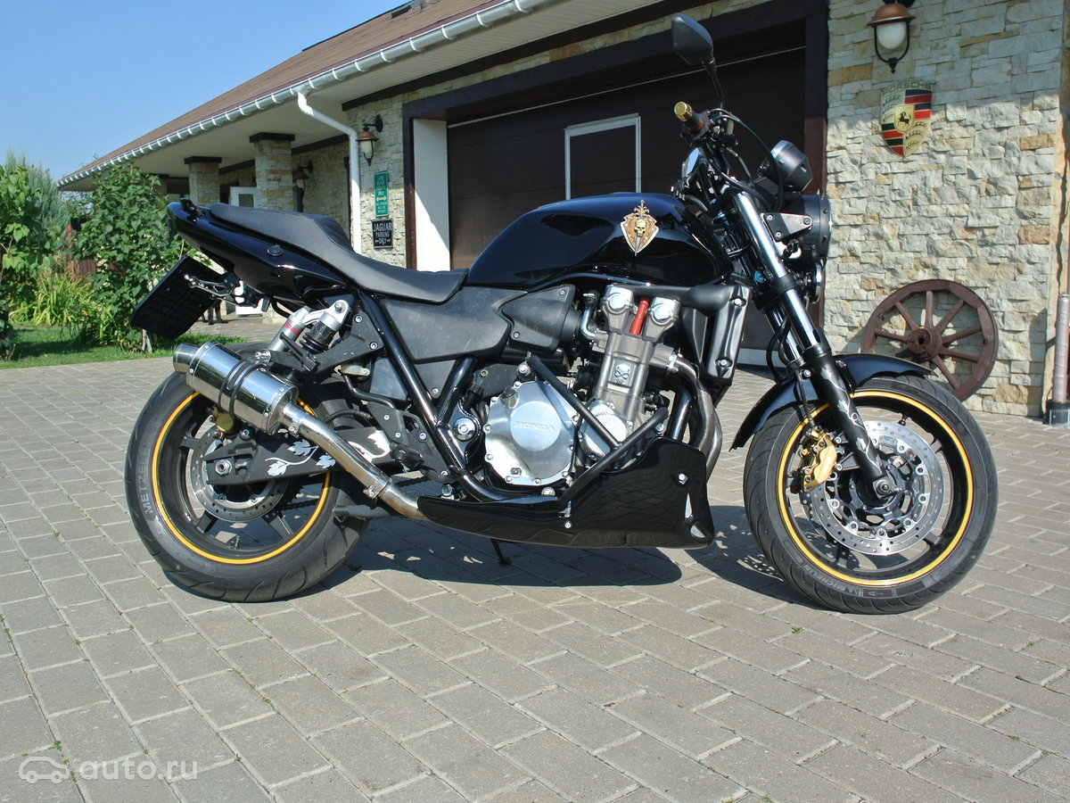 2003 Honda CB 1300, чёрный, 375000 рублей