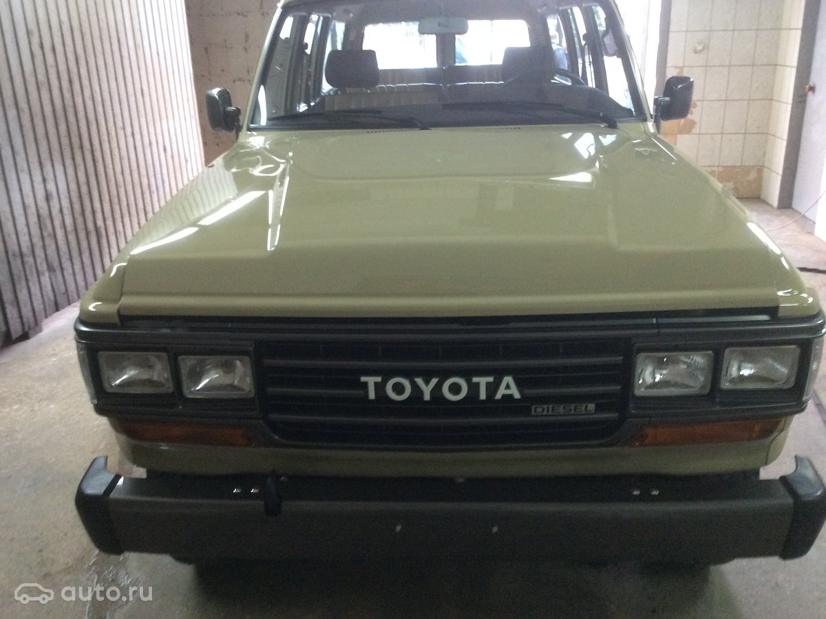 Toyota Land Cruiser 60 Series 1989 Object