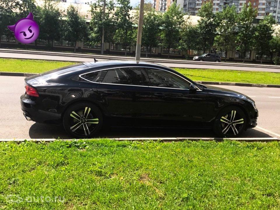 купить Audi A7 I с пробегом в москве ауди I 2011 года автору
