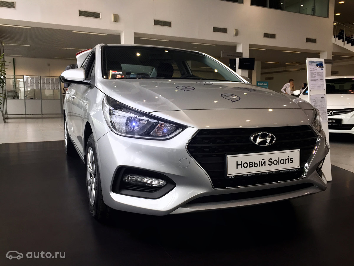 Build Hyundai Solaris 2017 has already begun 71