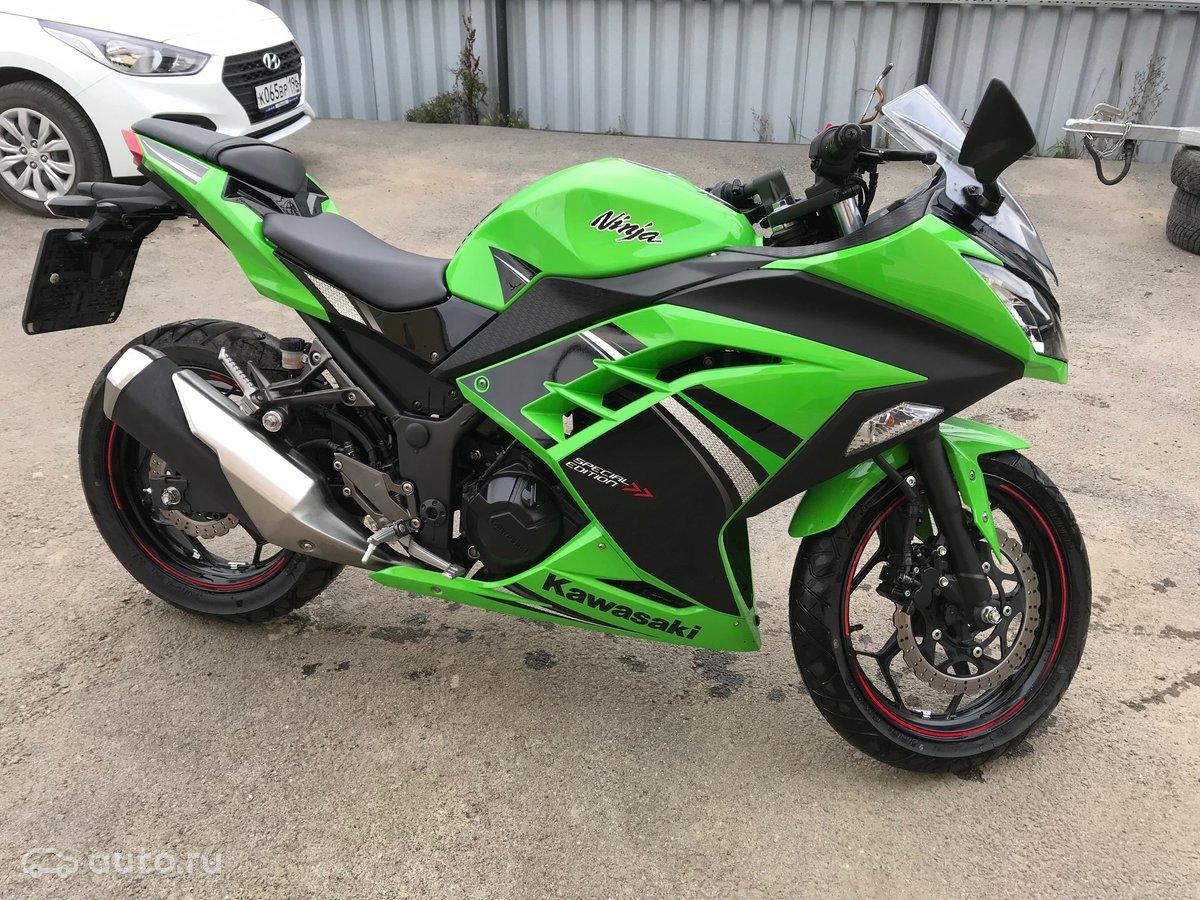 купить Kawasaki Ninja 300 с пробегом в алапаевске 2014 года цена