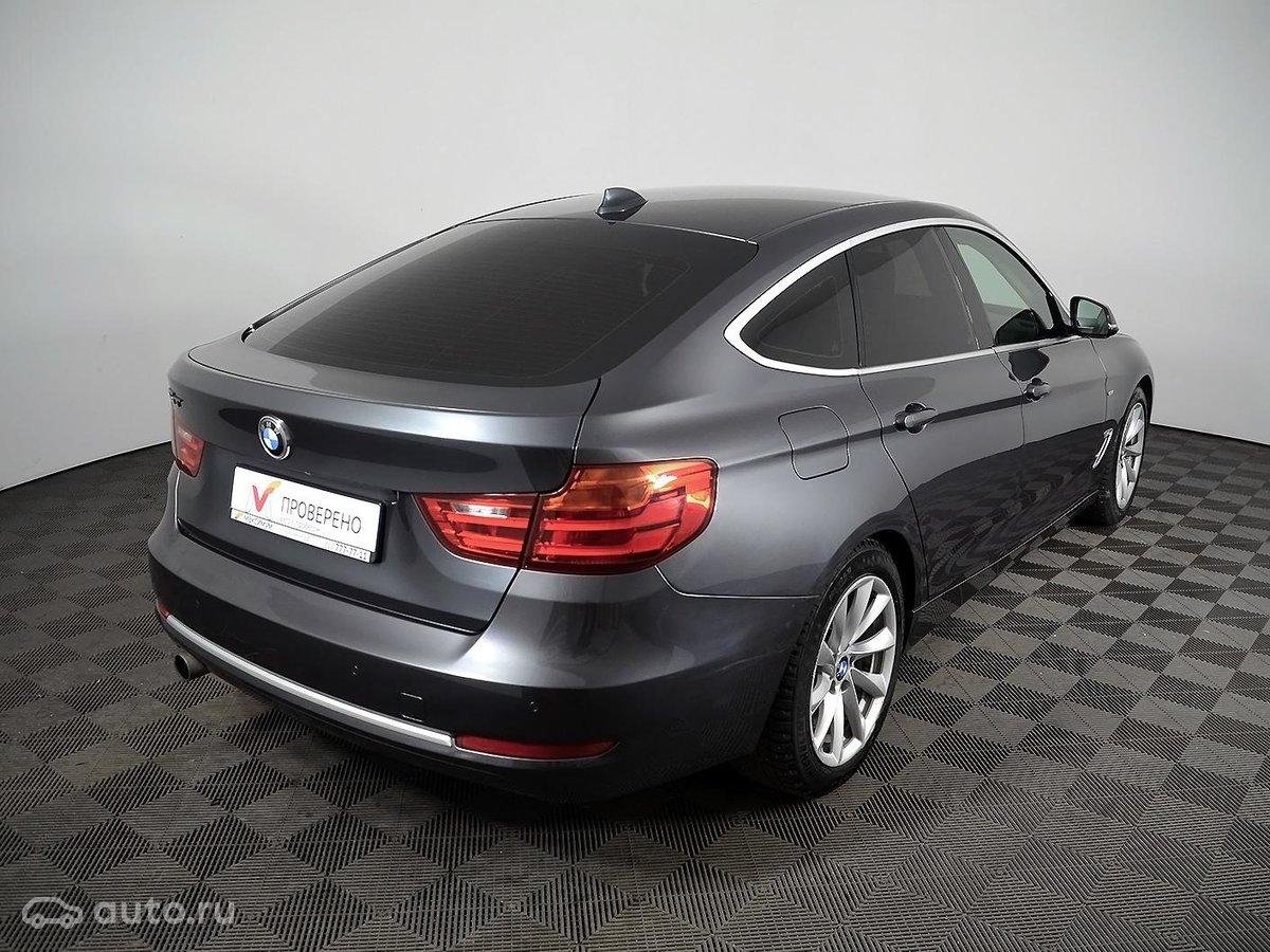 2013 BMW 3 ÑеÑÐ¸Ñ Gran Turismo VI (F3x) 320i, ÑеÑÑй, [object Object] ÑÑблей - вид 3