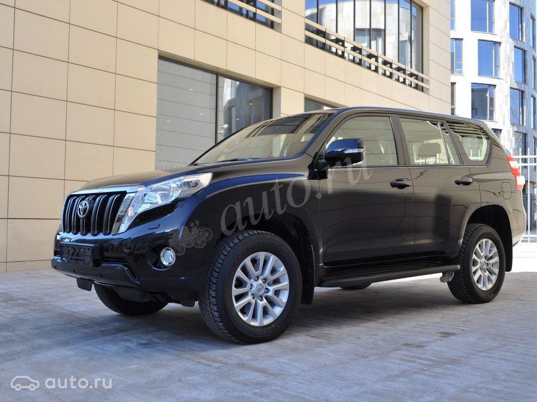 9919ab339b1c 2015 Toyota Land Cruiser Prado 150 Series Рестайлинг 1, чёрный, undefined  рублей
