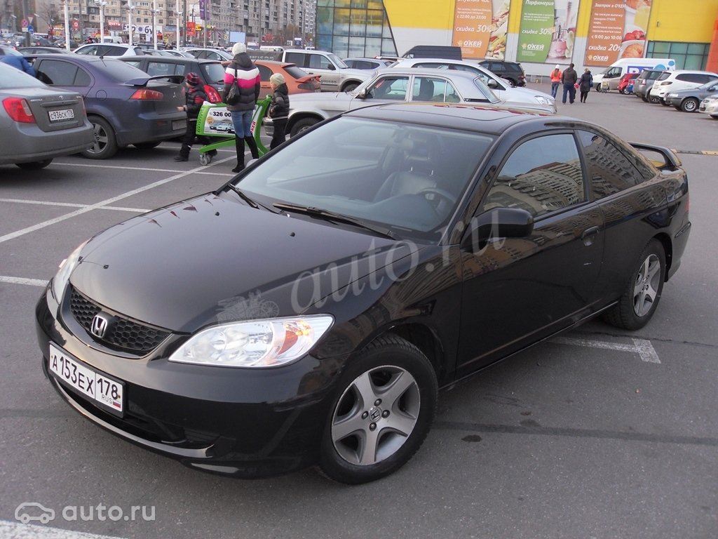 honda civic купэ 2004 обзор