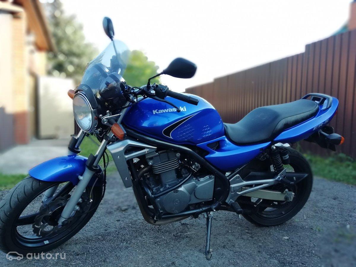 купить Kawasaki Er 5 с пробегом в москве Kawasaki Er 5 2006 года