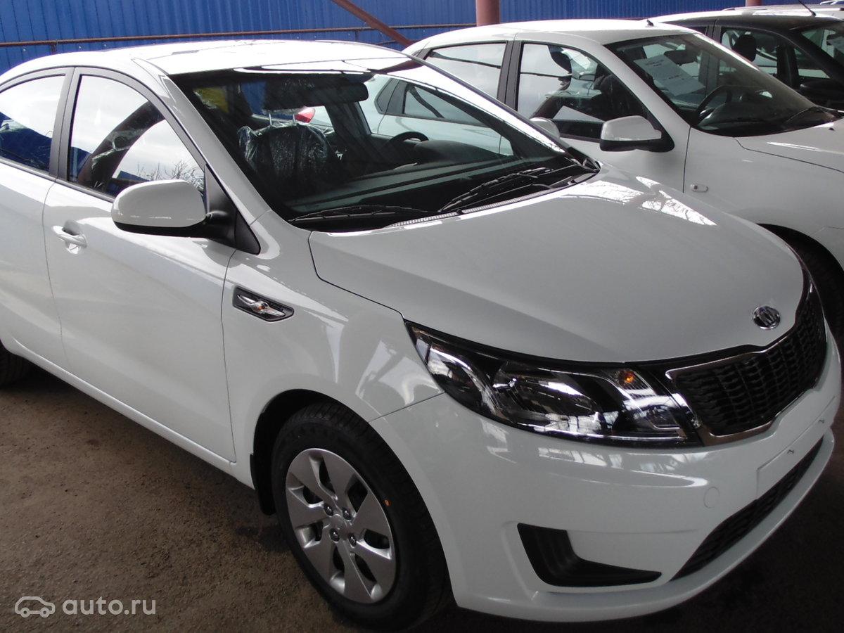 Продажа Kia Rio (Киа Рио) в России