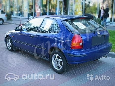 honda civic vi 1.4 mt отзывы