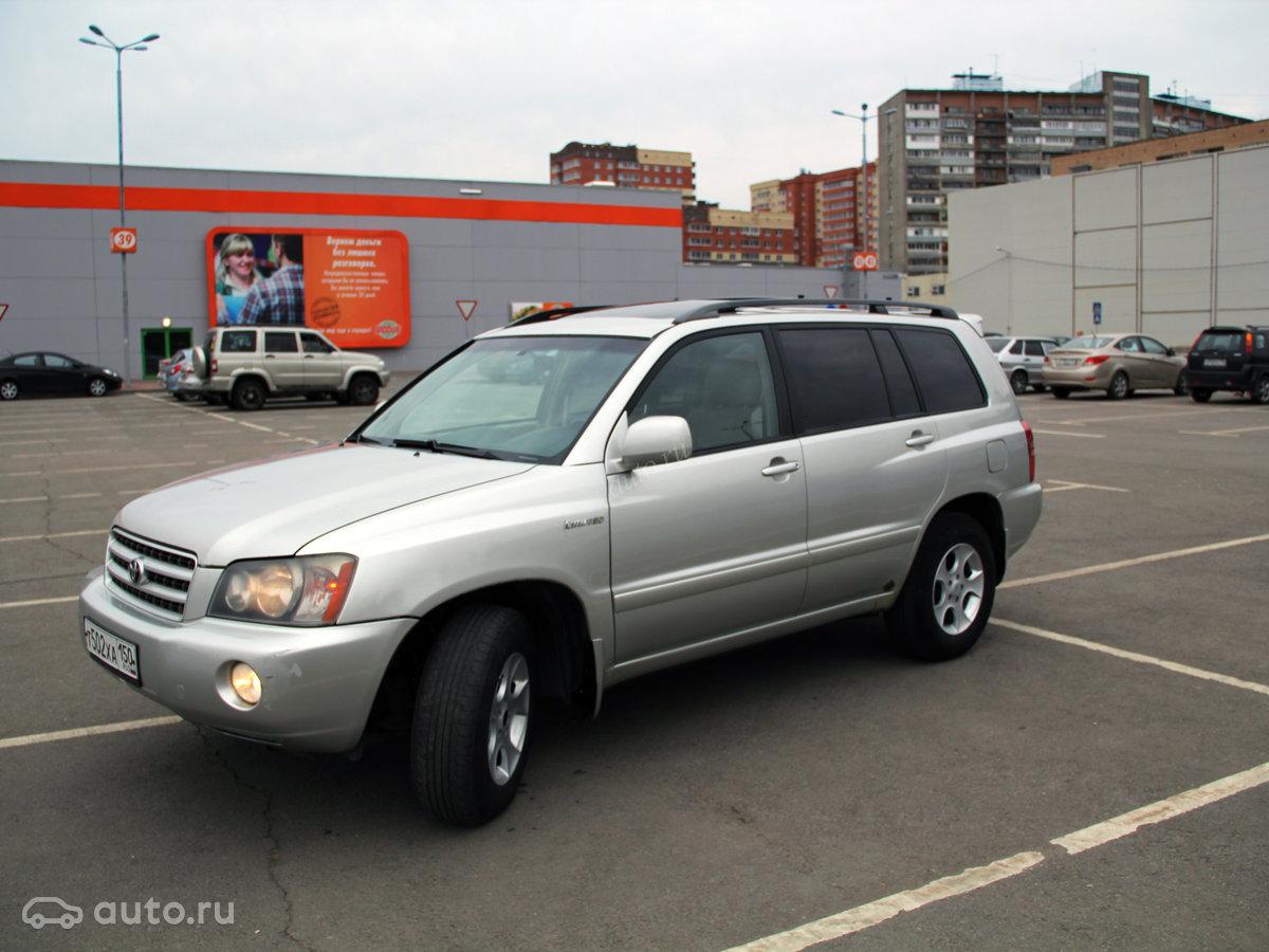 Toyota Хайлендер 2001 3 0