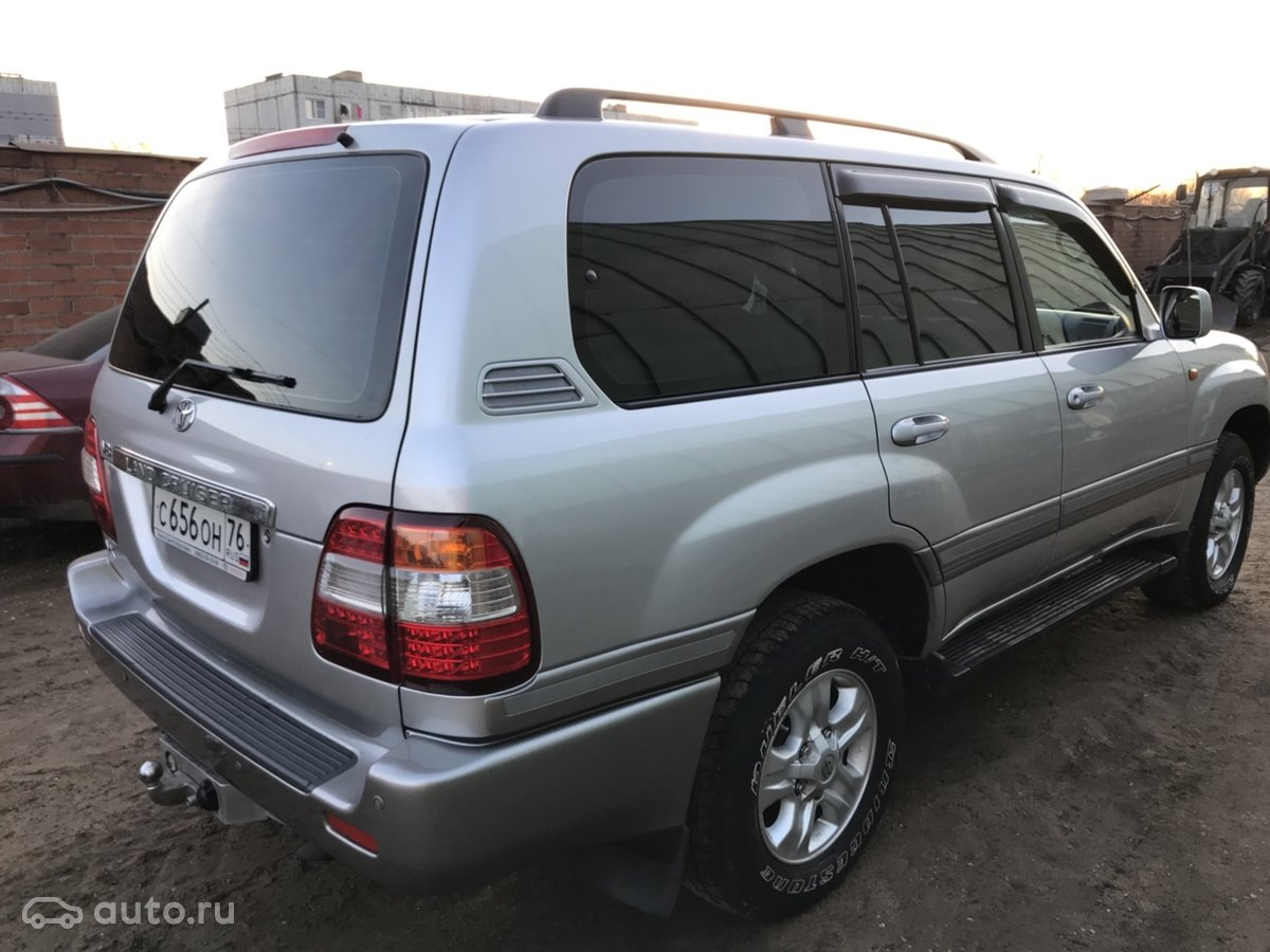 Toyota Land Cruiser 100 Series 2 2007 Object