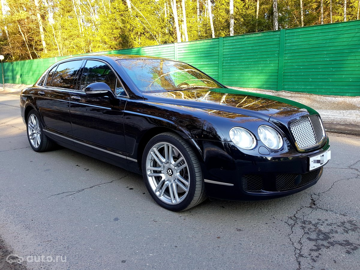 bentley continental flying spur 2012 года