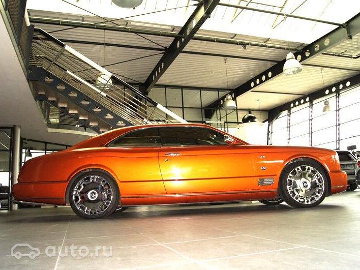 2009 Bentley Brooklands, II, оранжевый, 11000000 рублей - вид 5